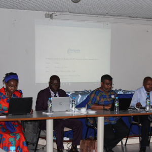 Climate change project organized meeting of the Steering Committee